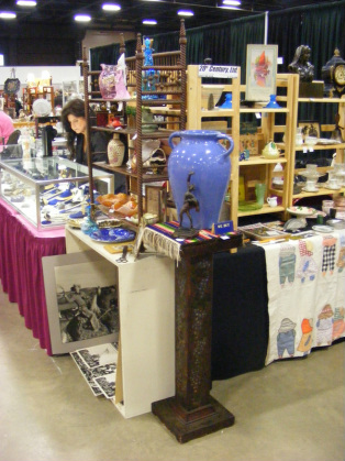 antique show booth
